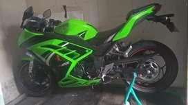 ninja 250 spesial editin hijau
