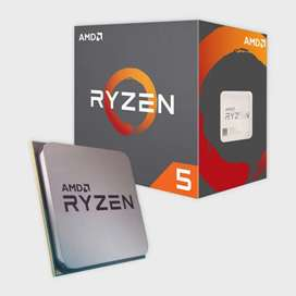 Ryzen 5 1600 6 Cores 12 Threads AMD CPU