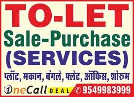 office purpose 2 Bhk Flat rent in Ratanada Panch batti