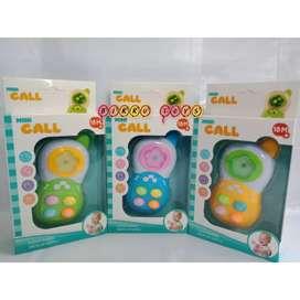 Mainan Anak HP Bayi - Mini Call Baby | HP Musik