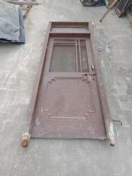 Door and window of kitchen