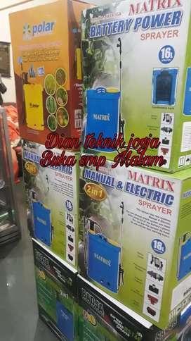 Mesin sprayer elektrik Stok Ada New // Dian teknik jogja bka smp Mlm