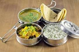VEG CATERING SERVICE/TIFFIN  FROM HOME CALL