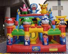 mainan pasat malam istana balon seru kegemaran anak anak
