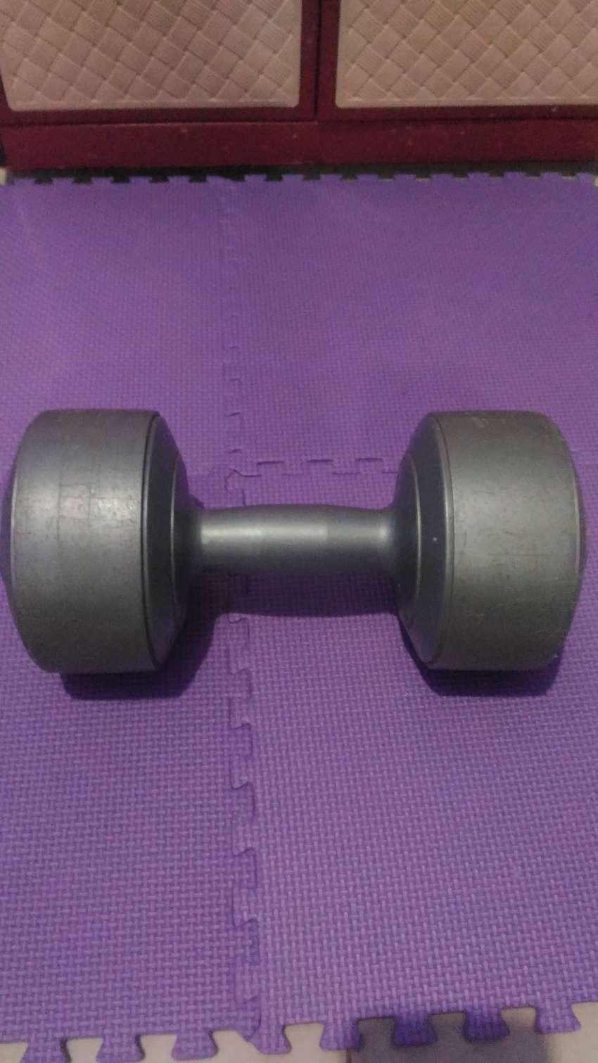 Stamina dumbell barbel 5 kg good condition 0