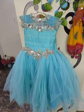 Party wear Gown Dress for 5/8 years
