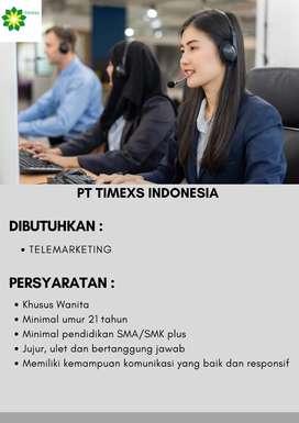lowongan kerja telemarketing dan loan officer ( wilayah balikpapan)
