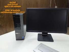 Dell/Hp  desktop & all in one ci3&i5 3rd 4th 5th 6th gen