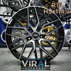 Velg / Pelek Racing HSR R18 Buat Mobil Innova Ring 18 Termurah