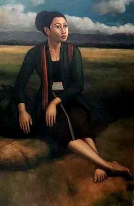 Lukisan perempuan jawa