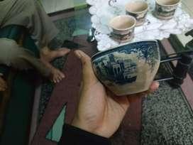 barang antik hand painted homestead