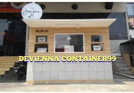 Booth Container coffee janji jiwa booth minuman Container boba/thaitea