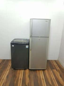 Samsung double door & Godrej topload fully automatic washing machine