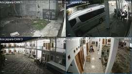 Paket Pemasangan Cctv 4 Kamera Hikvision 2 MP Lengkap