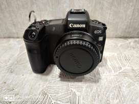 Canon R body with mount