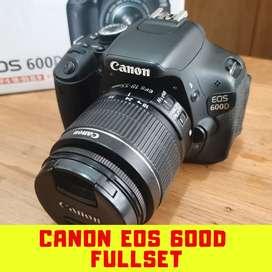 Canon Eos 600D Fullset