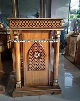 MIMBAR MASJID UKIRAN @mrjati_furniture 91hh