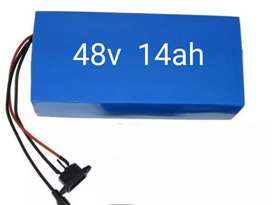 48v 14ah lithium battery it is using for cycle
