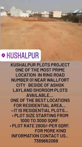 Kushalpur on road property