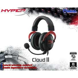 HyperX Cloud II Red Gaming Headset