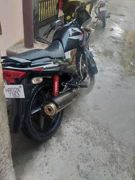 Hero honda karizma black colour condition okkk ha