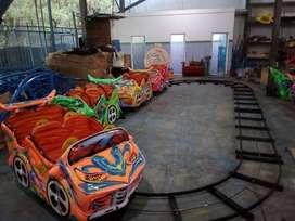 odong odong poli robocar kereta lantai mini coaster murah DCN