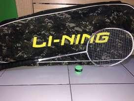 Raket Lining ULTRA CARBON 6000 Original bonus tas dan grip