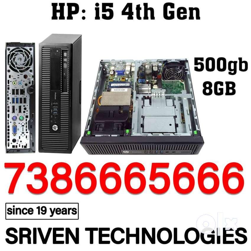 HP 600g1: i5 4th Gen 8gb 500 Cpu Sriven Technologies 0