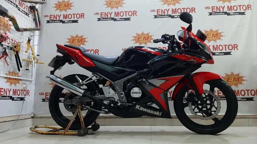 Siap pakai gan Kawasaki Ninja KRR th 2014 - Eny Motor