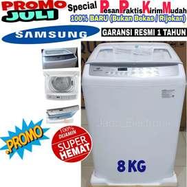 Mesin cuci Samsung 8kg 1 tabung murah