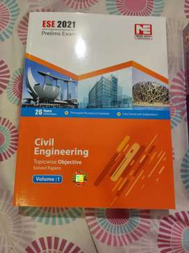 ESE PRELIMS CIVIL ENGINEERING PREVIOUS YEAR QUESTIONS BOOK