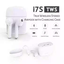 Headset handsfree headset airpods bluetooth TWS i7s