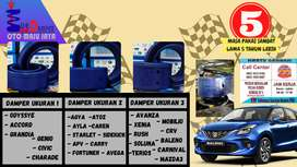 Garansi 12 Bulan Damper mobilberkualitas tahanbenturan dari Bluedamper