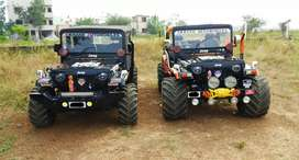 Urgent sell open modified jeep hunter willy thar available in pune