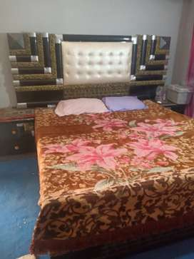 Double bed & singhar maiz large size