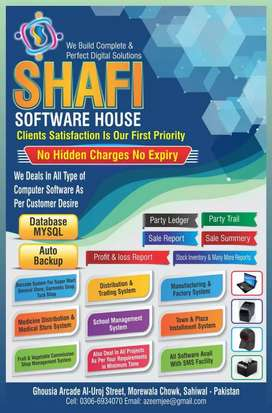 Freelancing & office job in software house