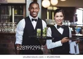 Wanted Stewards / Waiters urgently