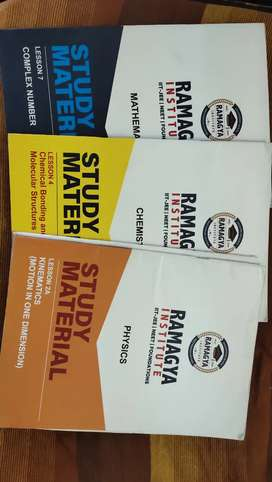 Jee Neet preparation brand new books (100+) books pcm study material