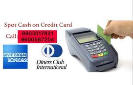 INSTANT LOAN ON CREDIT CARD