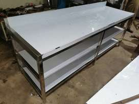 Working/ cutting / pickup / breading table washing sink exhaust hood