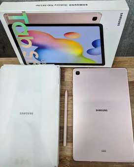 Samsung Tab S6 Lite 4/128 fullset mulus (pemakaian baru 20 hari)