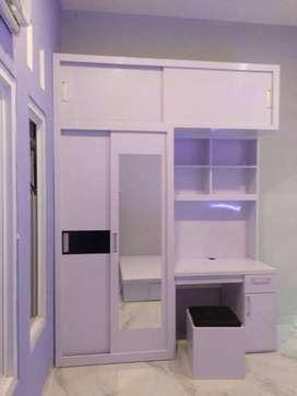 DOV almari lemari partisi ruangan dipan interior Hpl