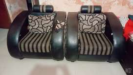 5 Sitter Sofa set with pillows