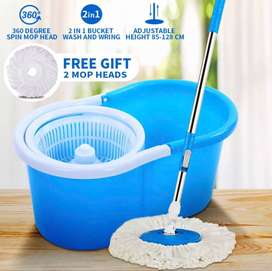 (New) Magic Floor Cleaning 360 Degree Spin Mop