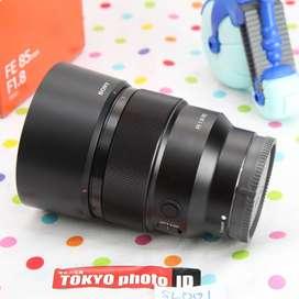 Lensa Sony EF 85mm f1.8 E mount (Grade AA)