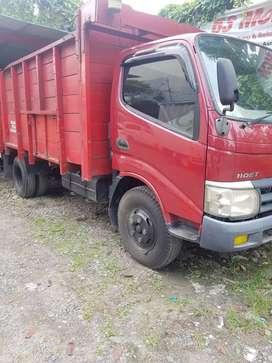 Toyota dyna 110 FT truck bak kayu