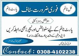 Part Time Work opportunity for Students