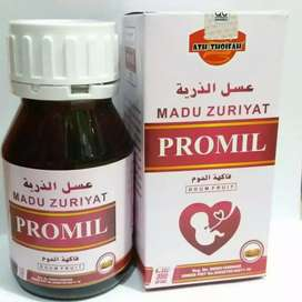 Madu Zuriyat PROMIL madu program kehamilan