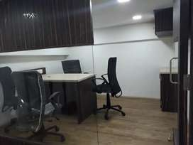 Unfurnished office available on rent