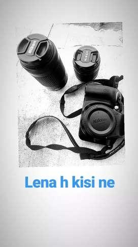 Nikon d3400 dual lens